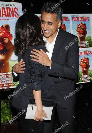 Eva Longoria and Sanjay Rawal