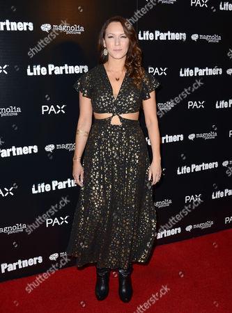 Editorial image of 'Life Partners' film screening, Los Angeles, America - 18 Nov 2014