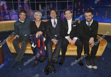 Noel Gallagher, Sheila Hancock, Jonathan Ross, Lee Evans and Jack Whitehall