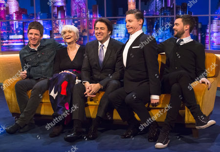 Stock Photo of Noel Gallagher, Sheila Hancock, Jonathan Ross, Lee Evans and Jack Whitehall