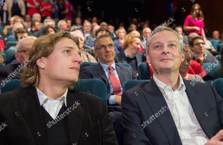 Jean Sarkozy and Bruno Le Maire