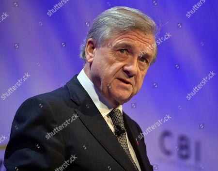 Cbi President Sir Michael Rake. - Cbi (confederation Of British Industries) Conference At The Hilton Metropole Hotel London.