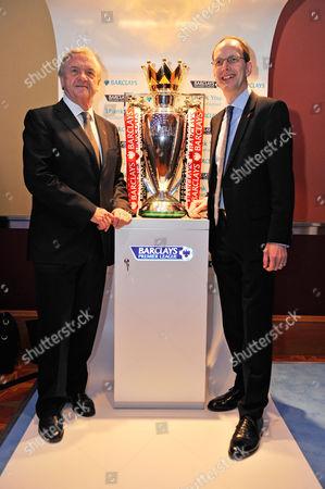 Cbi President Sir Michael Rake (l) And Cbi Dir. Gen John Cridland - Cbi (confederation Of British Industries)conference At The Hilton Metropole Hotel London. -.