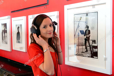 Editorial image of Studio to Stereo exhibition launch at Proud Camden Stables, London, Britain - 19 Nov 2014