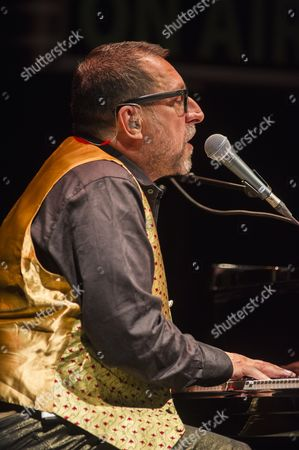 Editorial picture of Steve Nieve and Tall Ulyss in concert at the Cirque Royal, Brussels, Belgium - 27 Oct 2014
