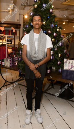 Editorial picture of Jack Wills Christmas Preview, London, Britain - 19 Nov 2014