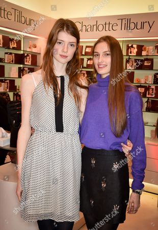 Stock Picture of Jessica Burley and Zoe Huxford
