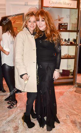 Lara Cazalet and Charlotte Tilbury