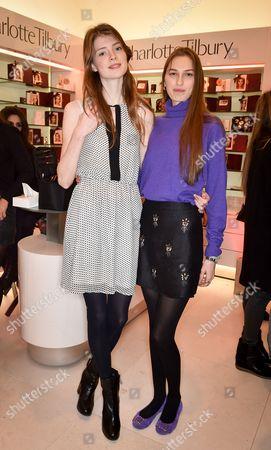 Editorial photo of Charlotte Tilbury launches her make-up revolution into Fenwick, London, Britain - 19 Nov 2014