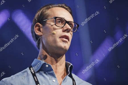 Founder and CEO of iZettle, Swedish Jacob de Geer