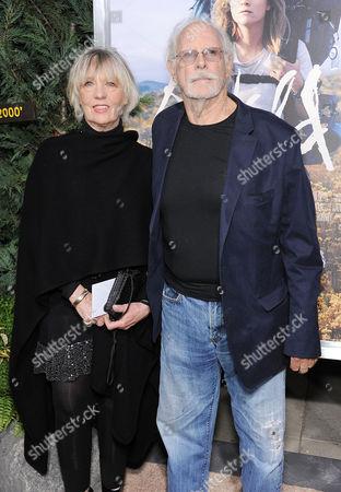 Andrea Beckett and Bruce Dern