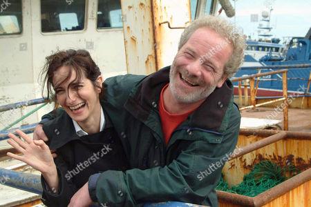 Lorenza Indovina and Peter Mullan