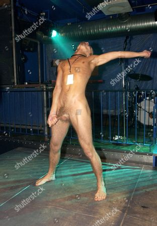 QUALIFYING NIGHT AT CLUB 45 SPECIAL - JUHANA HURULA 'RAIVO MAN' FROM FINLAND WHO PERFORMED NAKED. HE DID NOT MAKE IT TO THE FINALS - 28 AUG
