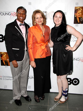 Stock Picture of Aaron Casey, Renee Fleming, Samantha Hankey
