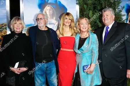 Andrea Beckett, Bruce Dern, Laura Dern, Diane Ladd and guest