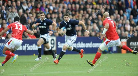 Johnnie Beattie - Scotland number 8