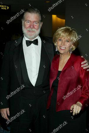 Stock Photo of Lesley Stahl and Husband author Aaron Latham.
