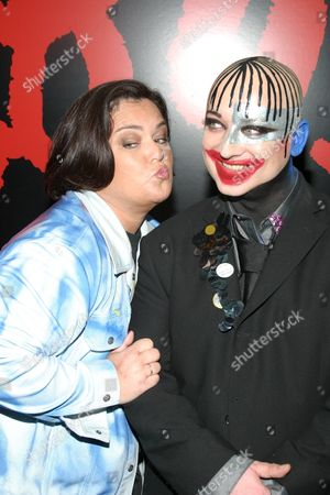 Rosie O' Donnell  and Boy George