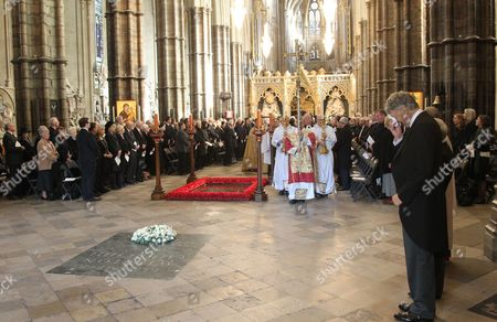 The Honourable William Shawcross CVO, who gave The Address at Westminster Abbey.