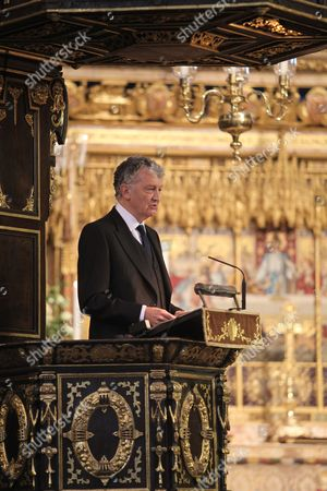 The Honourable William Shawcross CVO, gives The Address at Westminster Abbey.