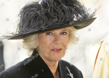 Stock Photo of Camilla Duchess of Cornwall