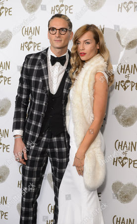 Stock Photo of Oliver Proudlock and Emma Lou