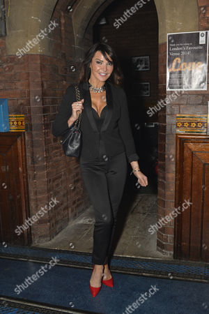 Stock Image of Lizzie Cundy