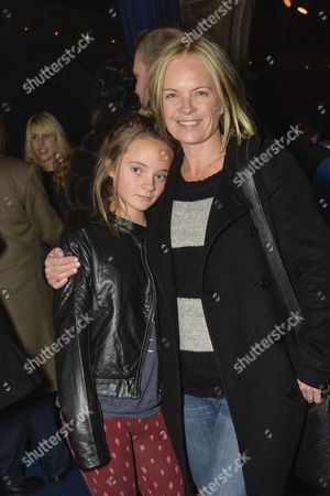 Stock Photo of Mariella Frostrup and her daughter Molly.