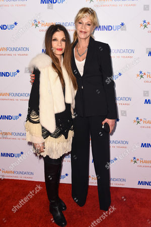 Loree Rodkin and Melanie Griffith