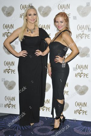 Kristina Rihanoff and Anya Garnis