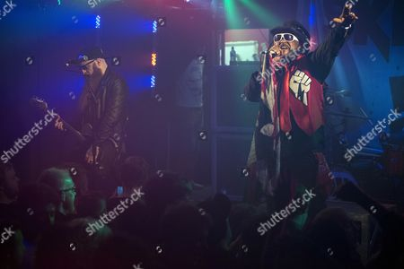 Skindred - Benji Webbe and Mikey Demus