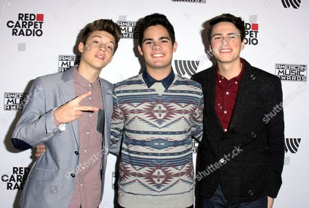Editorial image of American Music Awards Red Carpet Radio, Los Angeles, America - 21 Nov 2014