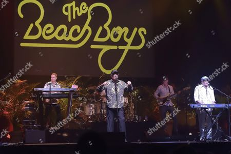 The Beach Boys - Mike Love, Christian Love, Bruce Johnston, Randell Kirsch, Tim Bonhomme, John Cowsill and Scott Totten