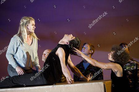 Patricia Bardon as Mary Magdalene, Parinay Mehra as Lazarus (Dancer), Stephanie Berge as Mary