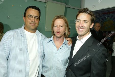 Jack Giarraputo, David Spade and Tom McNulty