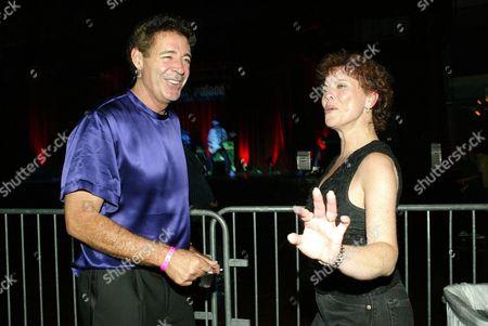 Barry Williams and Erin Moran