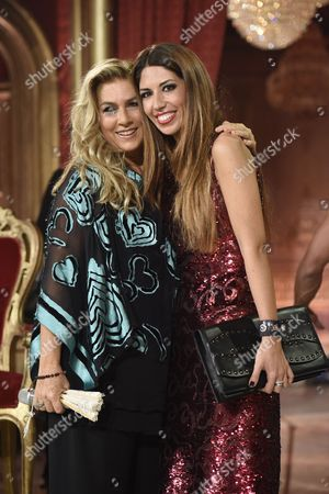 Stock Image of Romina Power and Lavinia Biagiotti Cigna