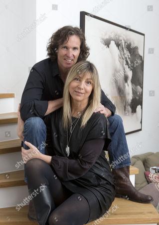 Stock Photo of Stefan Glowacz and wife Tanja Valérien-Glowacz
