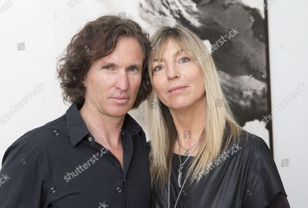 Stock Picture of Stefan Glowacz and wife Tanja Valérien-Glowacz