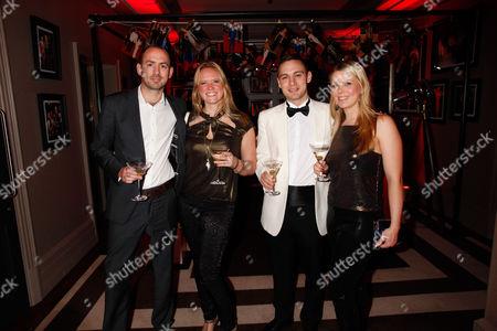 Stock Photo of Matt Phelvin, Michelle Boynton, Jack Glover Gunn and guest