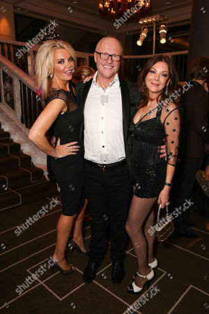 Claire Johnson, John Caudwell and Susan Young