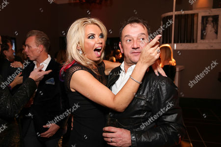 Claire Johnson and Rob Van Helden