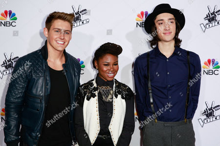 Editorial image of 'The Voice' Top 10 Artist of Season 7 , Los Angeles, America - 24 Nov 2014