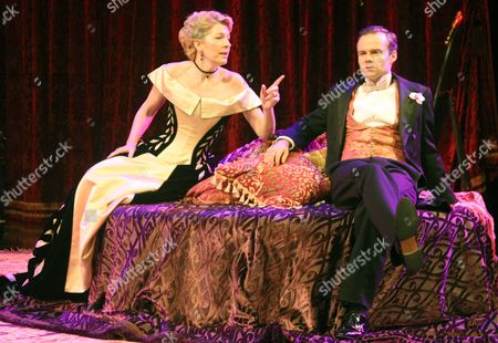 Gemma Redgrave as Mrs Cheveley & Jamie Glover as Lord Goring