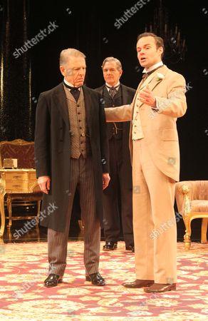 Edward Fox as The Earl of Caversham, Jamie Glover as Lord Goring & Robert Bathurst as Sir Robert Chiltern