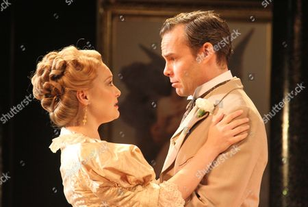 Amy Morgan as Miss Mabel Chiltern & Jamie Glover as Lord Goring
