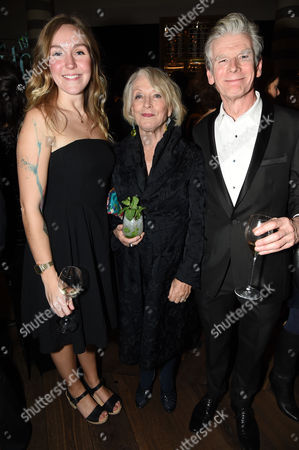 Stock Photo of Amy Peskett, Lucia van der Post and Chris Burke