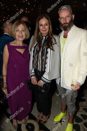Gillian de Bono Eva Cavalli and Damian Foxe