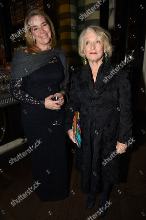 Stock Image of Guest and Lucia van der Post