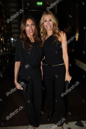 Stock Photo of Lulu Moore and Melissa Odabash